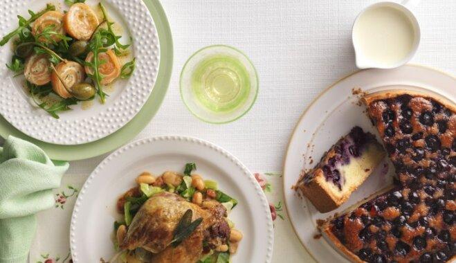 Kad mājas pārvēršas par restorānu – divas ēdienkartes smalkiem garšas piedzīvojumiem