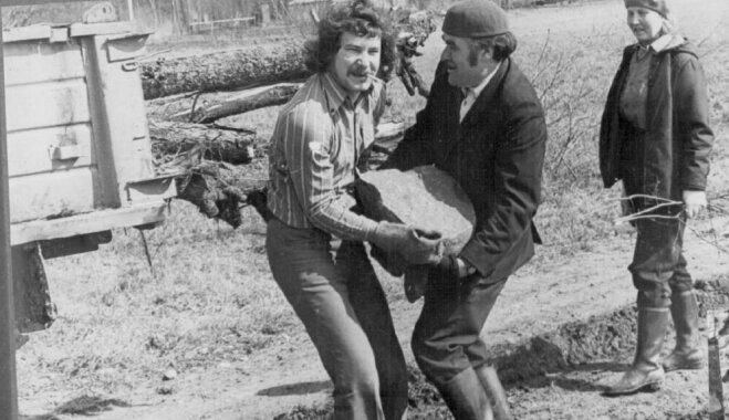 Vēsturiski kadri: Kā savulaik pavasarī talkoja ļaudis