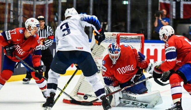 Норвегия отправила Южную Корею в первый дивизион с нулем очков и разницей шайб 4-48