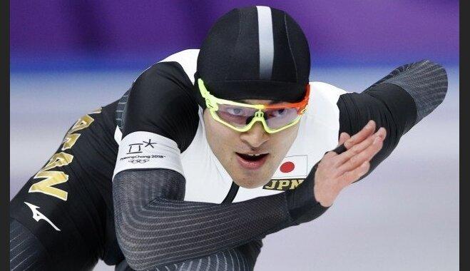 XXIII Ziemas olimpisko spēļu rezultāti ātrslidošanā vīriešiem 500 metru distancē (19.02.2018.)