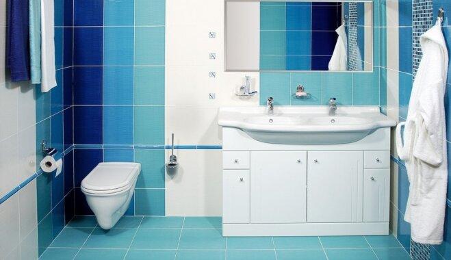 No krāsām nevajag baidīties: iedvesmojoši vannasistabu piemēri