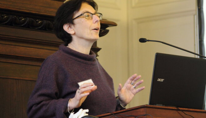 В Риге с бесплатной лекцией выступит звезда лингвистики профессор Сьюзен Ротштейн