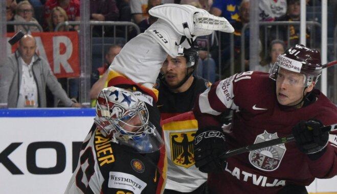 Матч Латвия — Германия собрал рекордную аудиторию на немецком ТВ