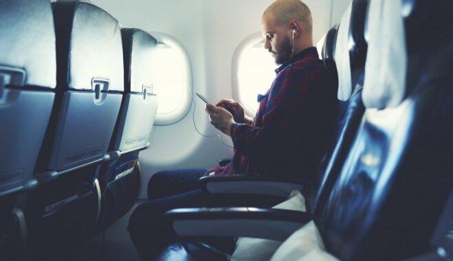 Astoņas lietas, ko nav ieteicams darīt lidmašīnā