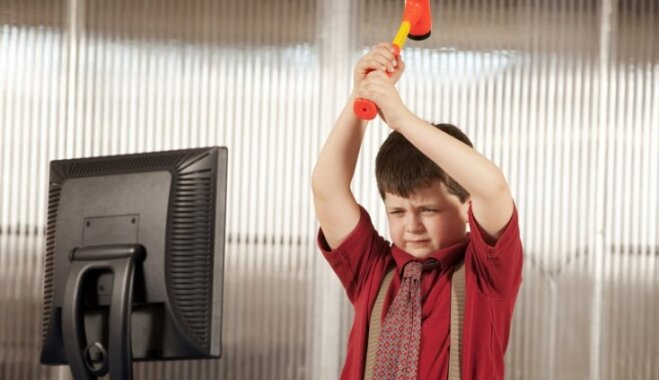 Psiholoģe: Bērnu agresija cieši jāsaista ar vecāku uzvedību