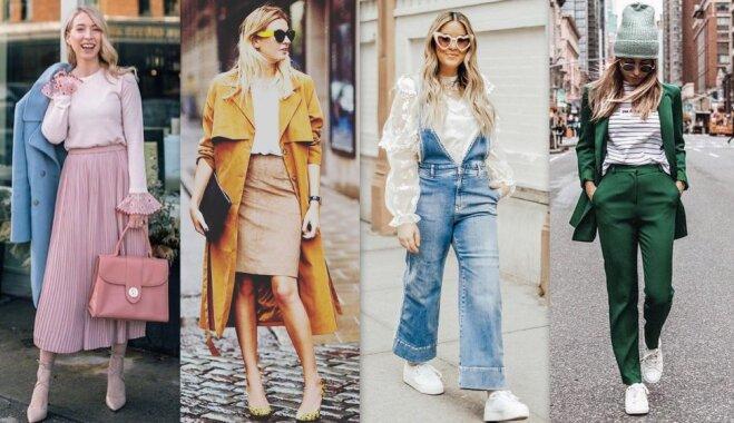 Как одеваться в апреле: 30 комплектов одежды на каждый день