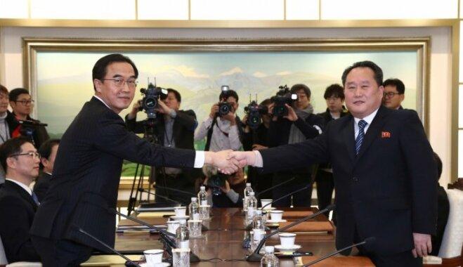 Ziemeļkoreja oficiāli piekrīt sūtīt sportistus uz 2018. gada olimpiskajām spēlēm Phjončhanā