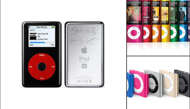 Apple iPod исполнилось 15 лет — история шести поколений плеера (в картинках!)