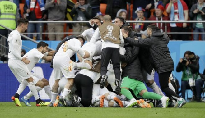 ВИДЕО: Уругвай на последних минутах вырвал победу над ослабленным Египтом