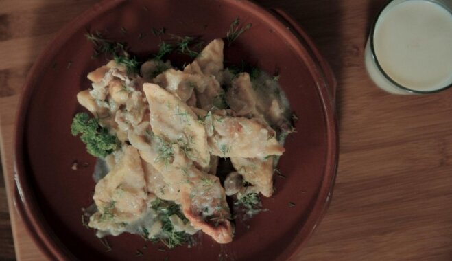 Какова Литва на вкус: Швильпикай - запеченные в духовке картофельные клецки с сытным соусом