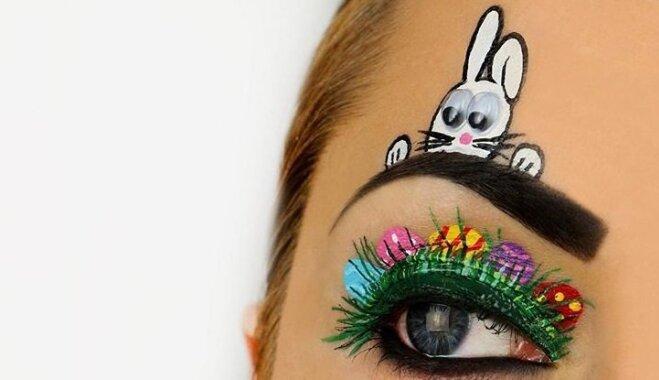 ФОТО. 20 идей, как сделать пасхальный макияж
