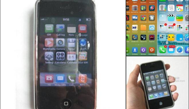 Яблочки с червячками: шесть примеров китайских подделок Apple iPhone