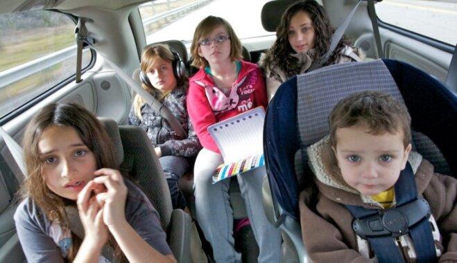 Lietas, ko var mācīties no daudzbērnu ģimenēm