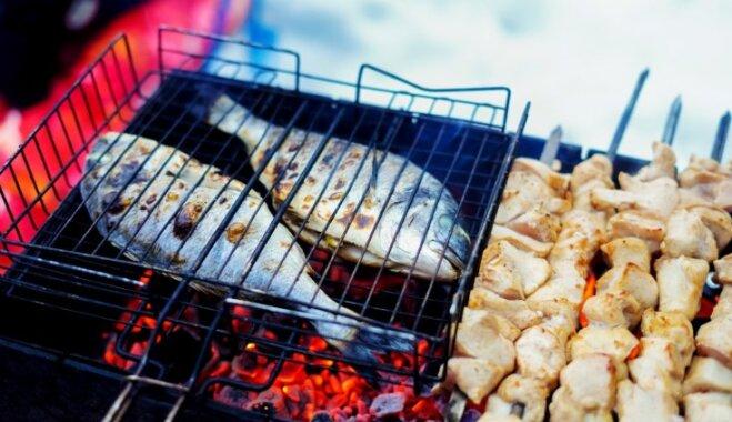 No jēra karbonādes līdz laša steikam – špikeris, cik ilgi grilējami dažādi produkti