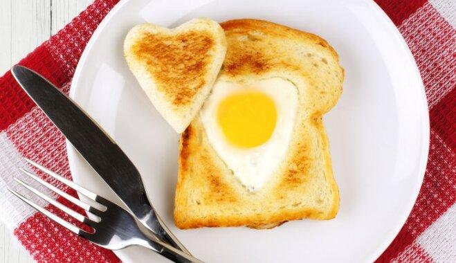 Sirds formā cepta ola