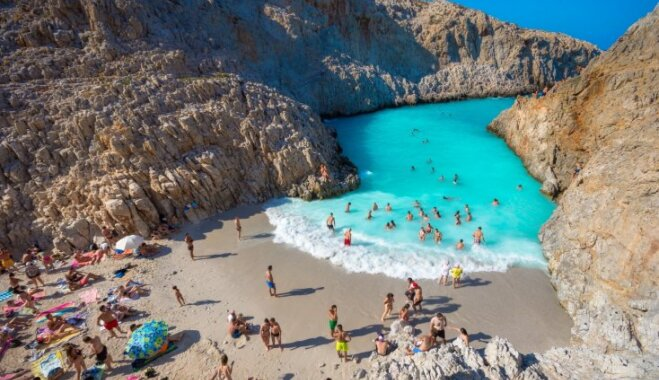 Райский уголок: три лучших пляжа на Крите