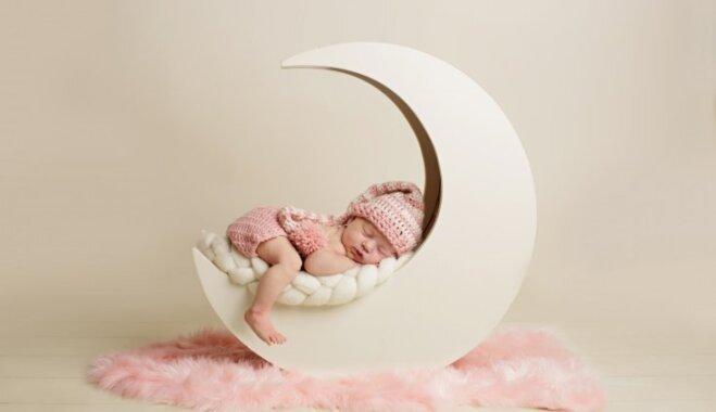 Rīgas Dzemdību namā šogad pirmais dzimušais mazulis – meitenīte