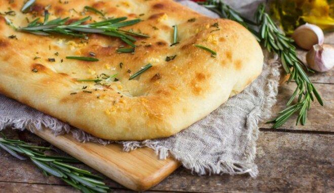 Итальянская пшеничная лепешка – фокачча