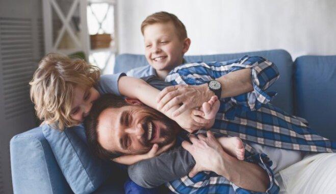 Speciālisti: vīrieša attieksme pret ģimeni veido bērna izpratni par tēva lomu