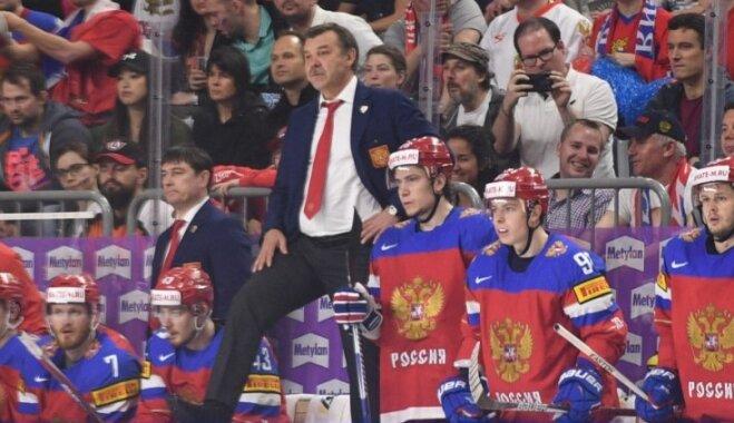 Знарок назвал состав сборной России на олимпийский турнир в Пхенчхане