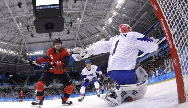Сборная РФ разгромила команду США вматче Олимпиады вПхенчхане