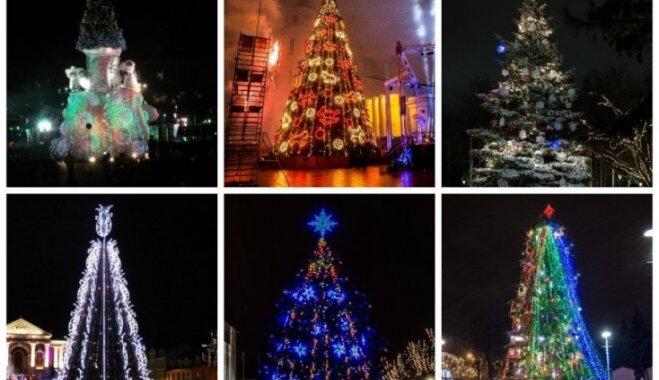 ФОТО: В Литве выбрали самую красивую елку