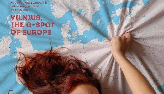 """""""Вильнюс – точка G Европы"""". Для столицы Литвы сделали сексуальную рекламу"""