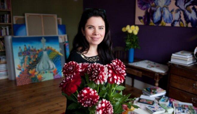 Iedvesmojies pārmaiņām mājoklī no mākslinieces Kristīnes Luīzes Avotiņas
