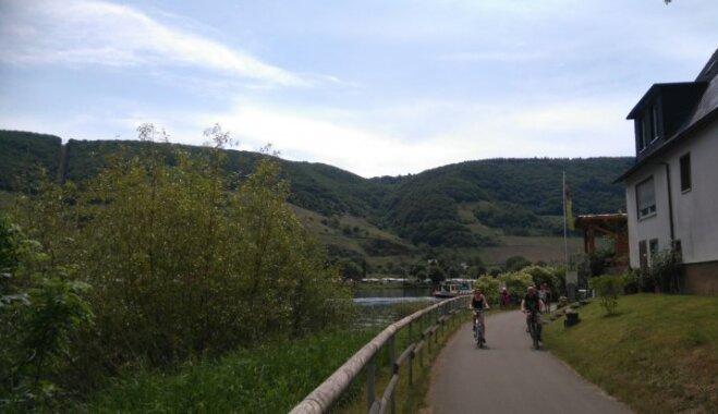 Iespējams, skaistākais riteņbrauciens Eiropā – Mozeles ieleja, kur katrs pagrieziens kā pastkarte