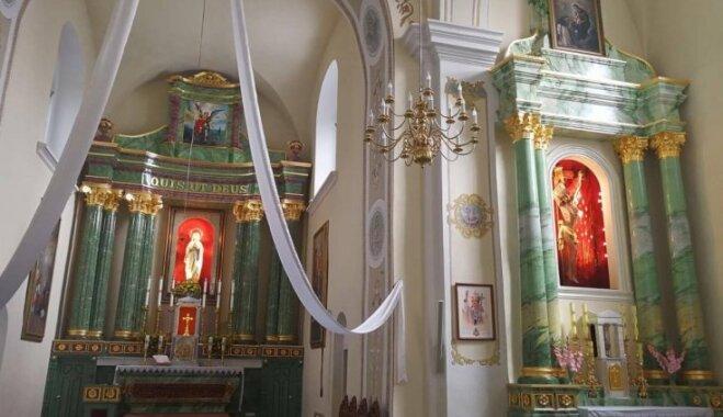 Ceļojums laikā: Viļānu baznīcas brīnumainais izdzīvošanas stāsts