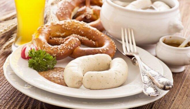 10 vācu virtuves ēdieni, ko vērts pagaršot kaut reizi dzīvē