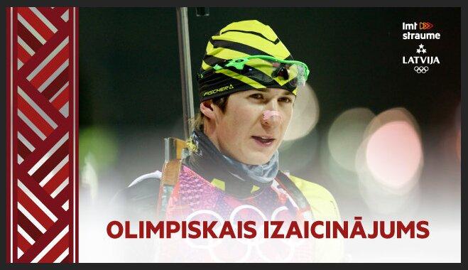 Video: Olimpiskais reportieris iejūtas biatlona Pasaules kausā pie Rastorgujeva un Muižnieka un medī Furkadu