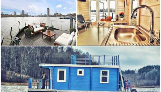 Dzīve uz ūdens: piecas apburošas peldošās mājas