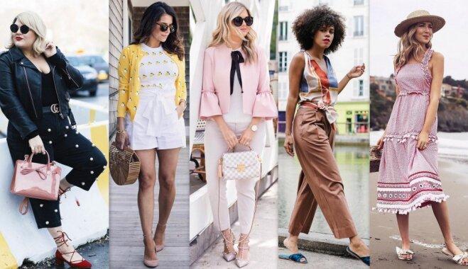 Jūlija modes salikumi: apģērbu idejas katrai mēneša dienai