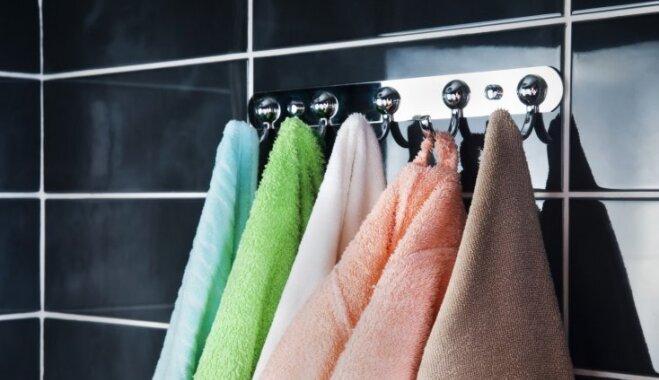 Dvieļi kā viesnīcā – kā tos mazgāt, žāvēt un glabāt