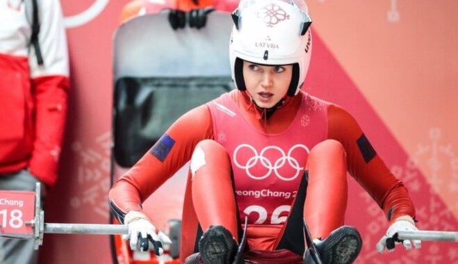 Ulla Zirne pēc diviem braucieniem ieņem astoto vietu, Cauce un Aparjode cīnās par TOP20