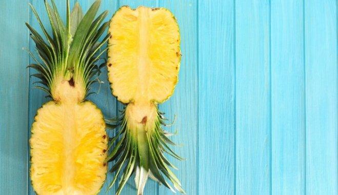 Sirdij, ādai, auglībai. Kāpēc eksotiskie ananasi ir ieteicami un kad no tiem labāk atteikties