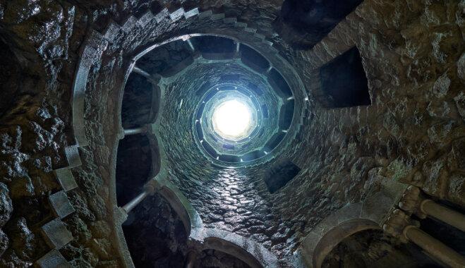 ФОТО. Перевернутая башня масонов: колодец посвящения в Синтре