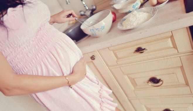 Topošās un jaunās mammas aicina apmeklēt bezmaksas lekcijas par veselīgu uzturu