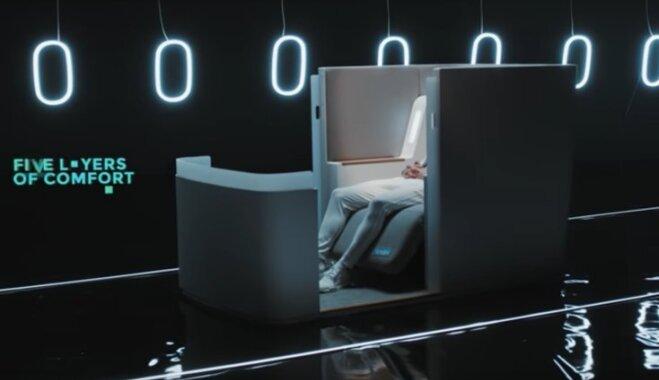 """Представлено """"самое высокотехнологичное"""" самолетное кресло в мире"""