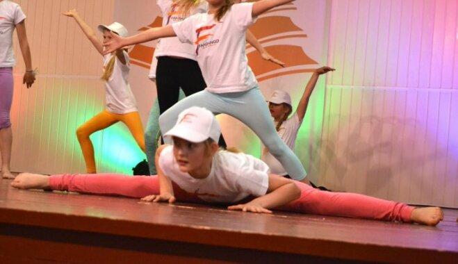 Deju un vingrošanas studija Mini Fandango uzņem bērnus un jauniešus dažādās vecuma grupās