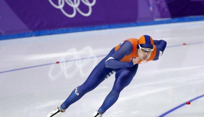 XXIII Ziemas olimpisko spēļu rezultāti ātrslidošanā vīriešiem 1000 metru distancē (23.02.2018)