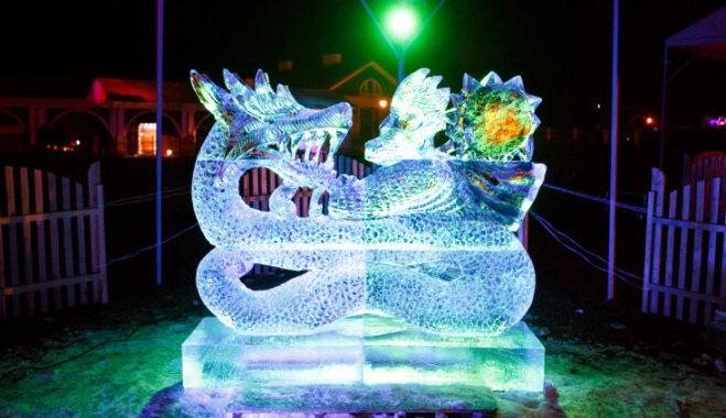 Atcelts Pakrojas muižā plānotais ledus skulptūru un uguns festivāls
