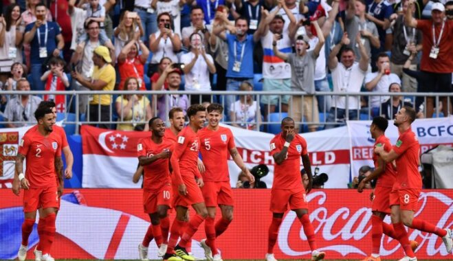 Англия впервые за 28 лет пробилась в полуфинал чемпионата мира по футболу