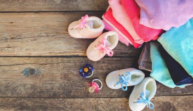 Zīdaiņa pūriņš: ko iegādāties pirms bērniņa piedzimšanas