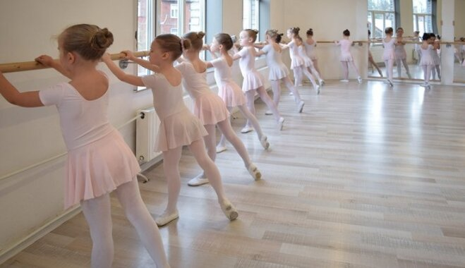Mammu, gribu dejot baletu!