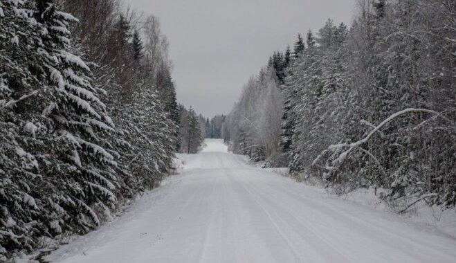 Slēpojiens uz ziemīgo Miljonu ceļu Ērgļu pusē