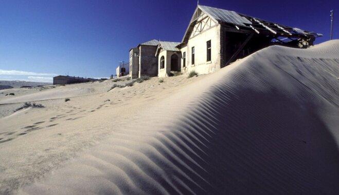 Namībijas Skeletu krasts – vieta, kur tuksnesis un okeāns iznīcina kuģus