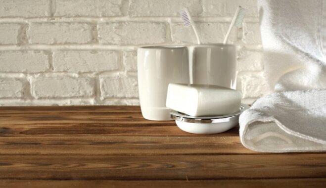 Citrons, soda un mutes skalojamais – kā efektīvi mazgāt zobu birstes trauciņu