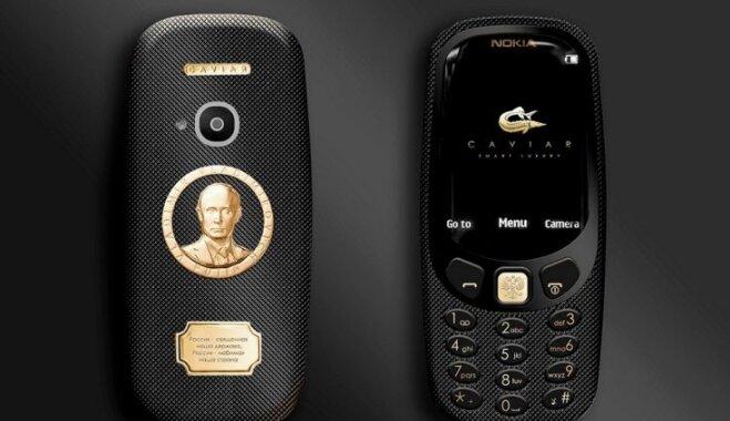 ФОТО: Caviar показала Nokia 3310 с Путиным и в титановом корпусе за €1600